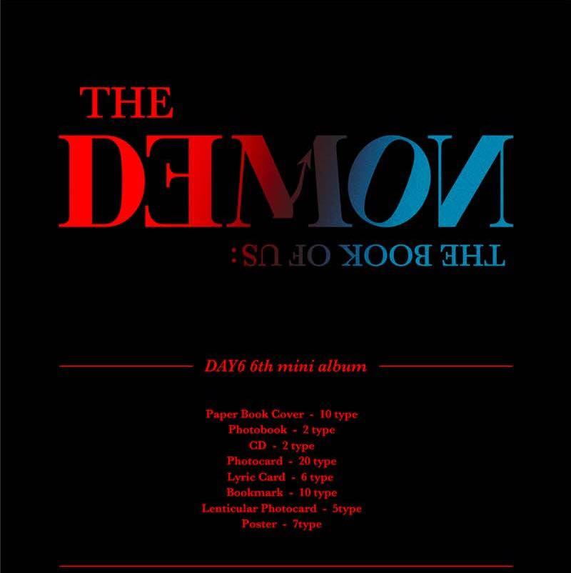"[PREORDER] DAY6 MINI ALBUM VOL. 6 ""THE BOOK OF US: THE DEMON"""
