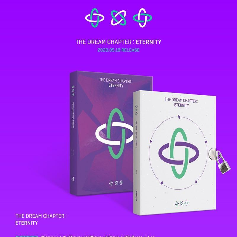 "[PREORDER] TXT ALBUM ""THE DREAM CHAPTER: THE ETERNITY"""