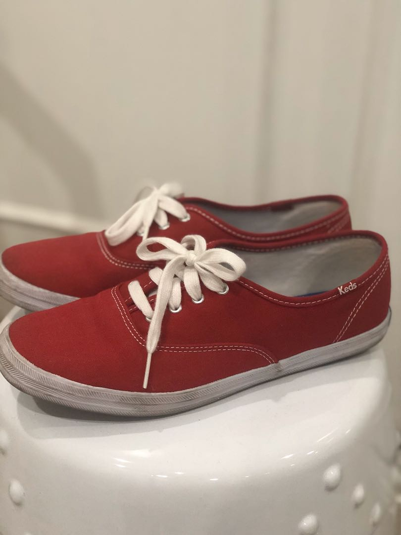 Red Keds, Women's Fashion, Shoes