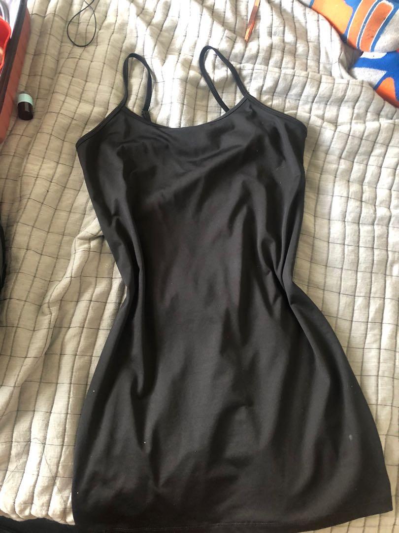 Silky mini bodycon dress