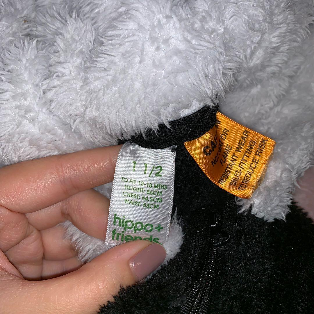 Size 1 and a half panda onesie