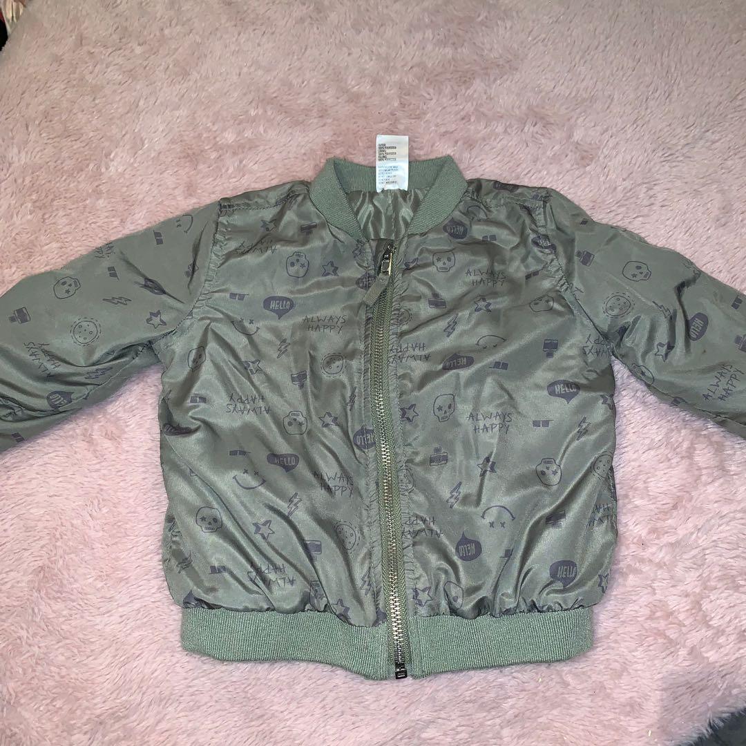 Size 1 bomber jacket