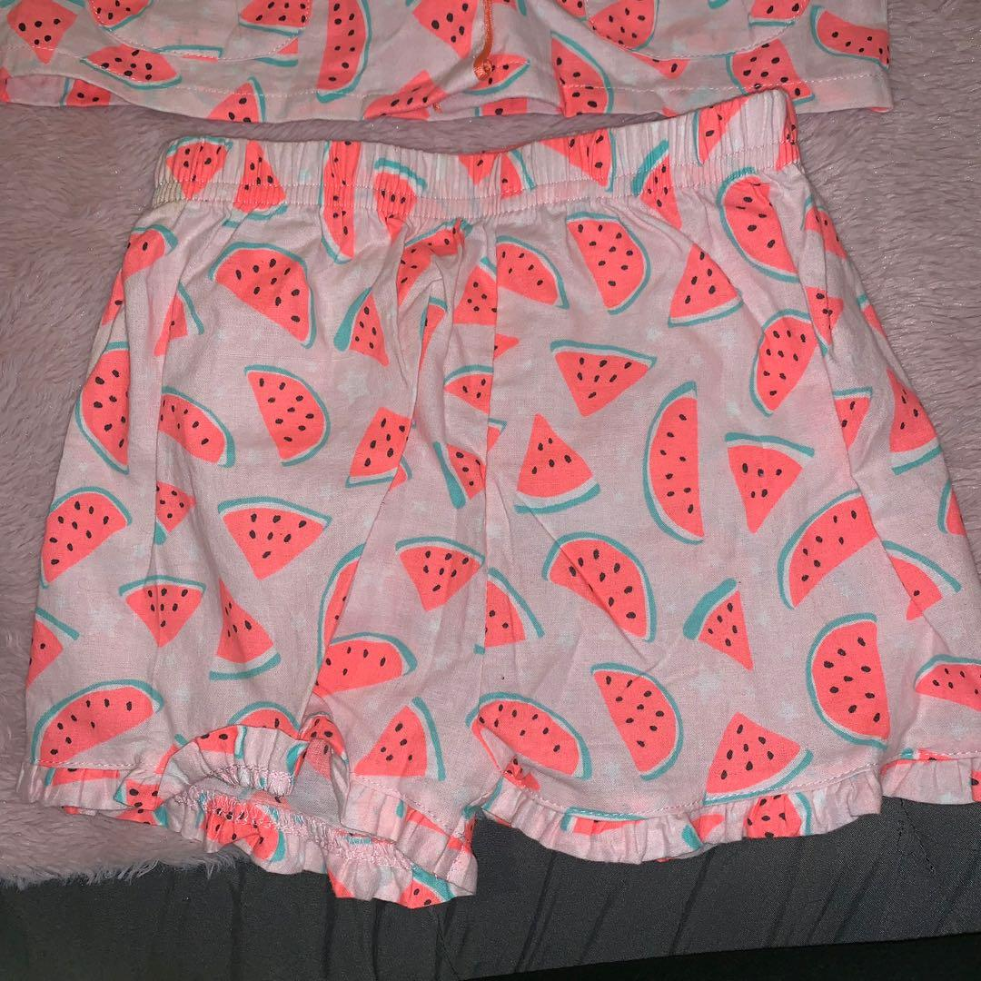 Size 2 watermelon PJs