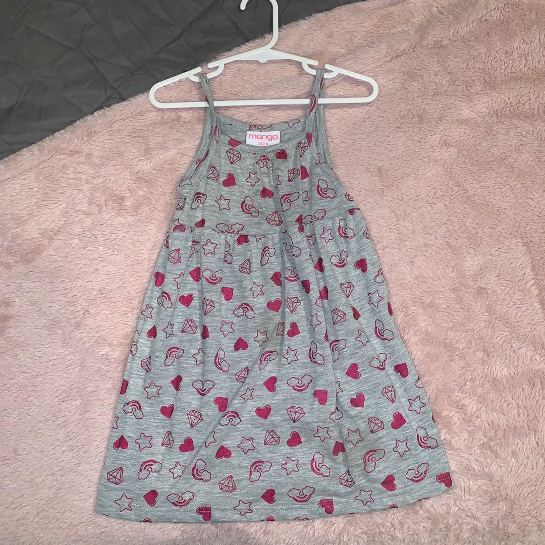 Size 4 grey dress