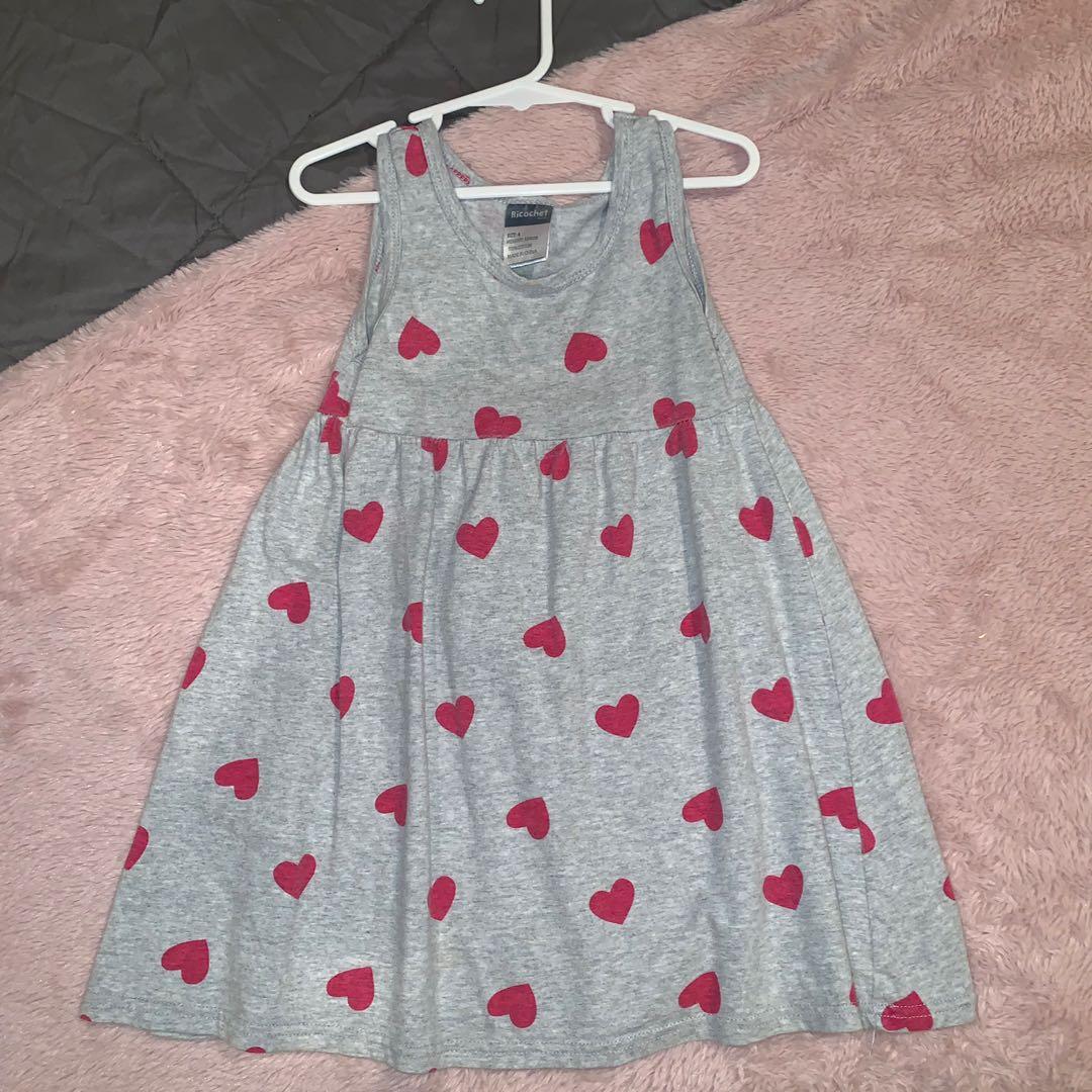 Size 4 heart dress