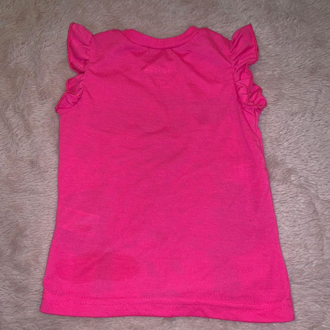 Size 4 pink Minnie Mouse top