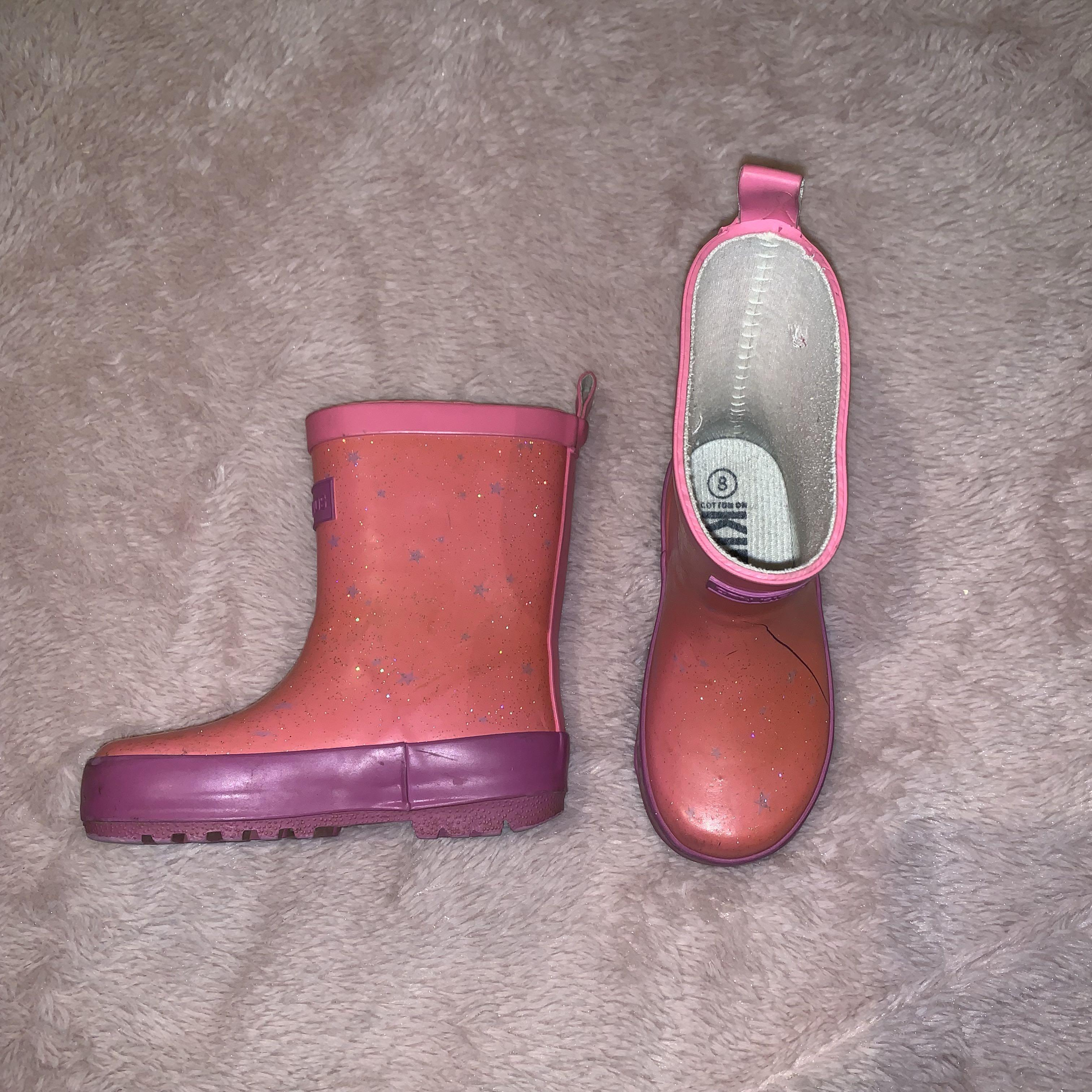 Size 8 gumboots