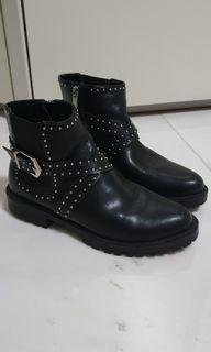 Stradivarius military ankle boots