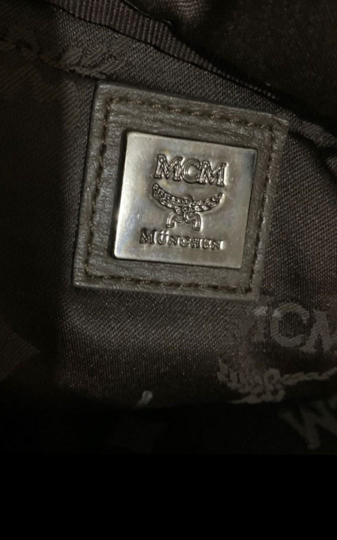 Tas Selempang MCM Authentic, Anggun nan Cantik. Bisa utk  Ngantor atau Santai  Size 40x25x6