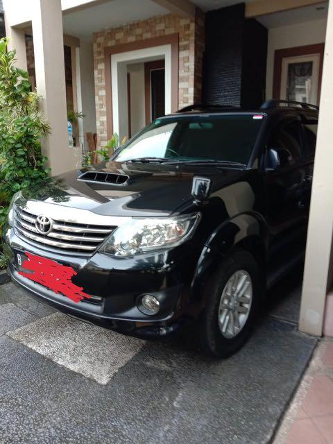 Toyota Fortuner VNT 2.5 Diesel 2013 Second Like New Good Condition