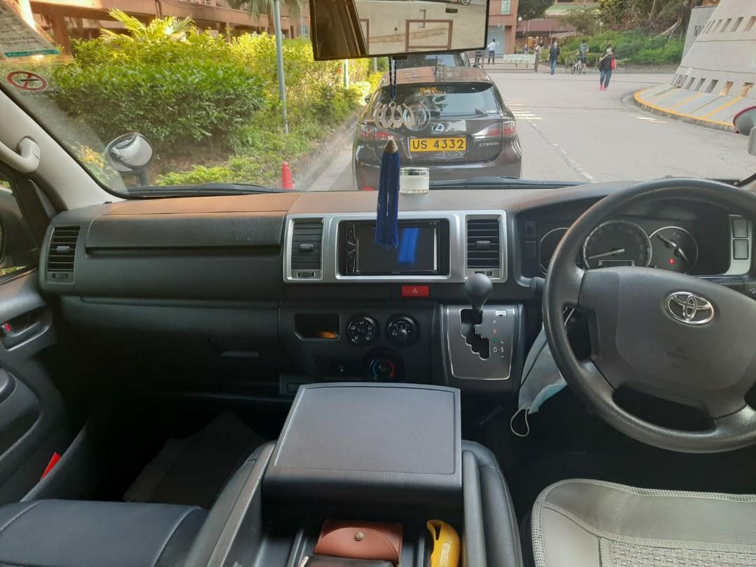 Toyota Hiace 3.0 High Roof GL Bus (A)