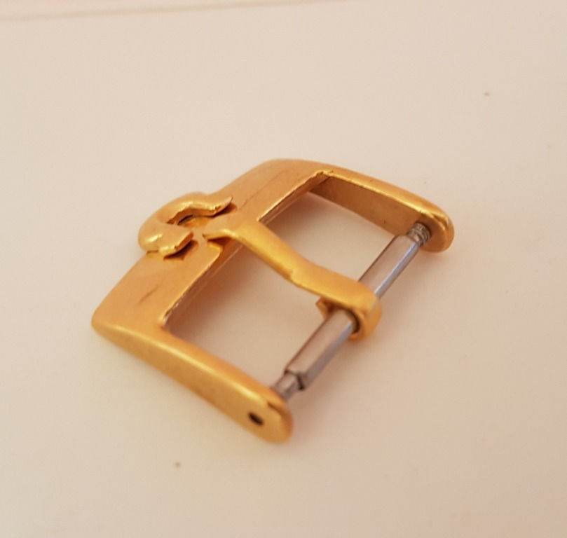 Vintage OMEGA Buckle, Old Collectibles, Rare Omega 18 mm Buckle, Omega Watch Company, Swiss, Gold filled Buckle from Omega, Switzerland, Parts, Spares, Pop Culture, Old Souvenir, Art Décor, Avant-grade