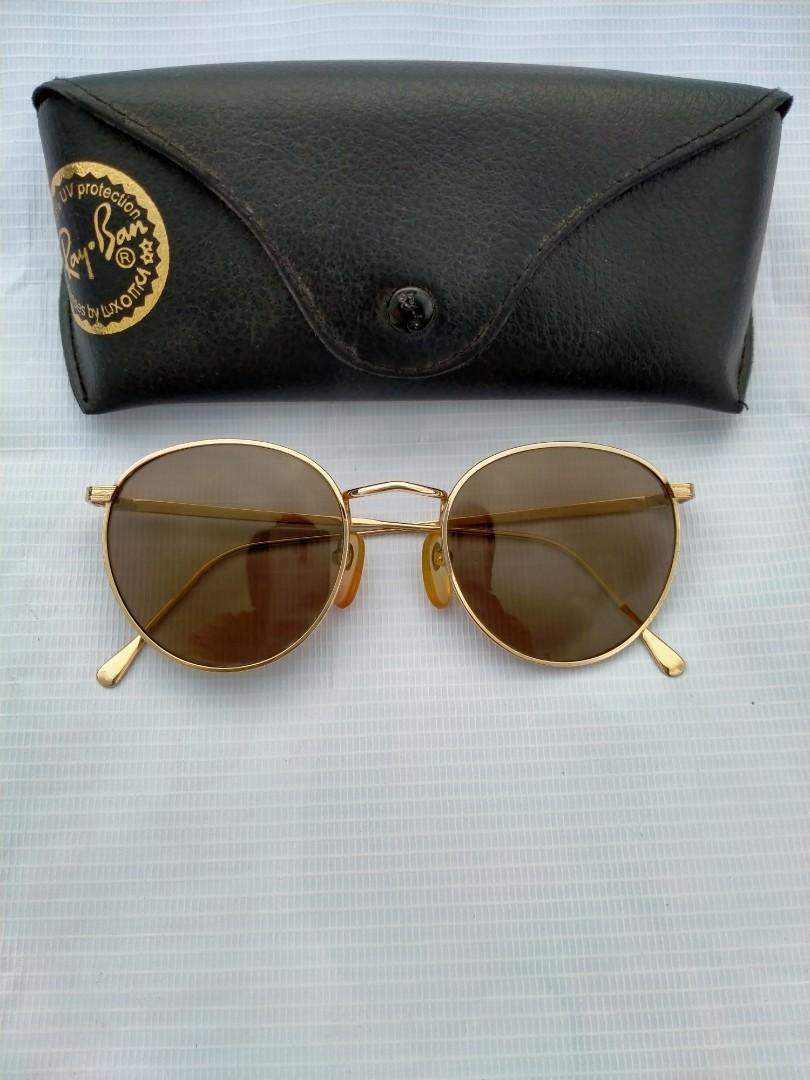Vintage Sunglasess 80s/John Lennon Vintage Sunglasses Brand: GIORDANO  Size: 52-20