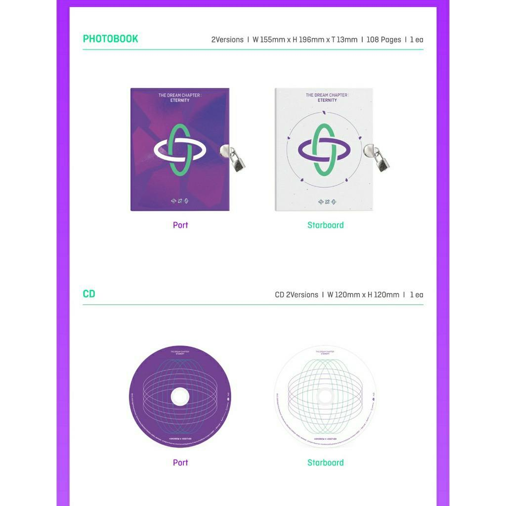 (+WEVERSE BENEFITS) TXT(TOMORROW X TOGETHER) Album [The Dream Chapter : ETERNITY]