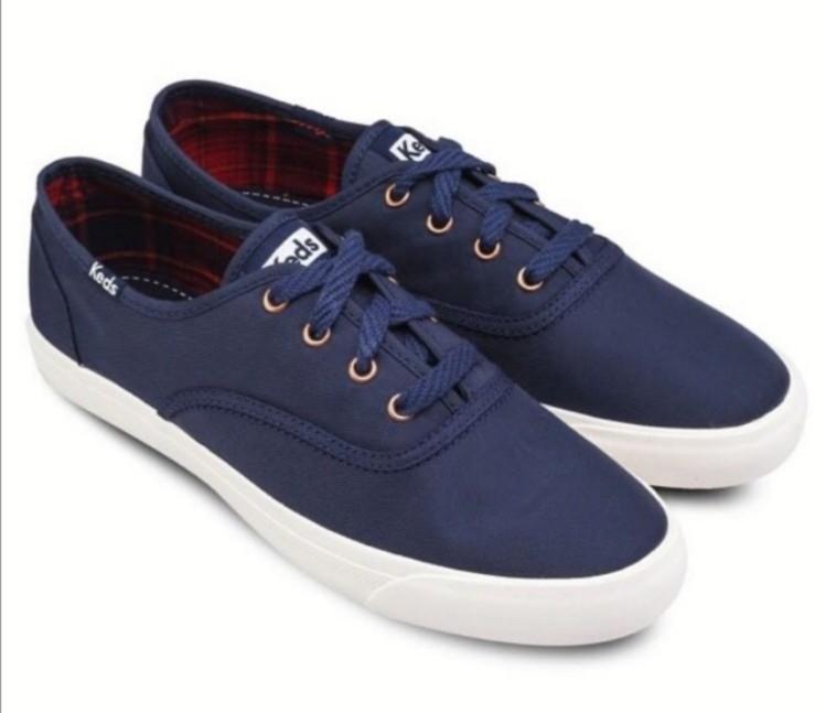 KEDS Triumph Nylon Lace Up Sneakers