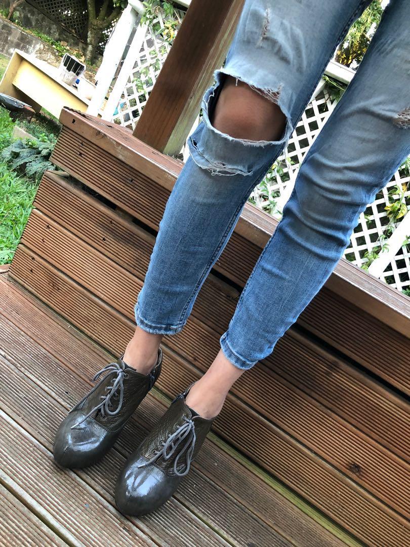Vintage Oxford Heels