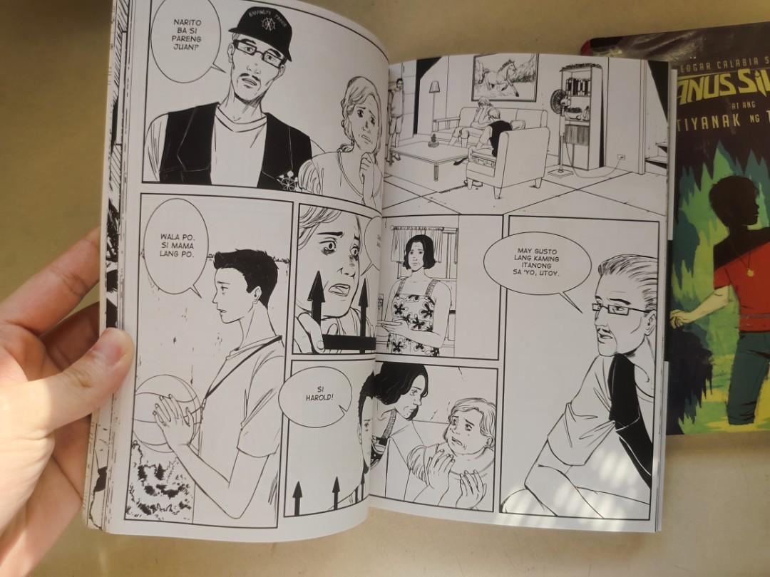 Si Janus Silang at ang Tiyanak ng Tabon by Edgar Calabria Samar Comics and Book