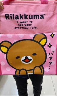 徵收 全新拉拉熊袋子 如圖
