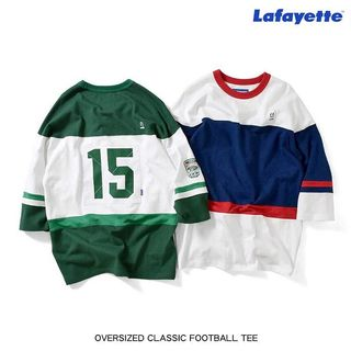 Lafayette OVERSIZED CLASSIC FOOTBALL TEE