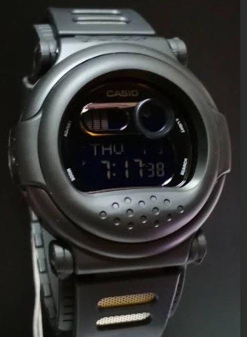 NEW🌟MINI GSHOCK UNISEX DIVER SPORTS WATCH : 100% ORIGINAL AUTHENTIC CASIO G-SHOCK : G-001BB-1 / G001-BB-1 (FULL BLACK STEALTH MATT)