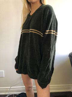 Oversized thrifted soft sweater