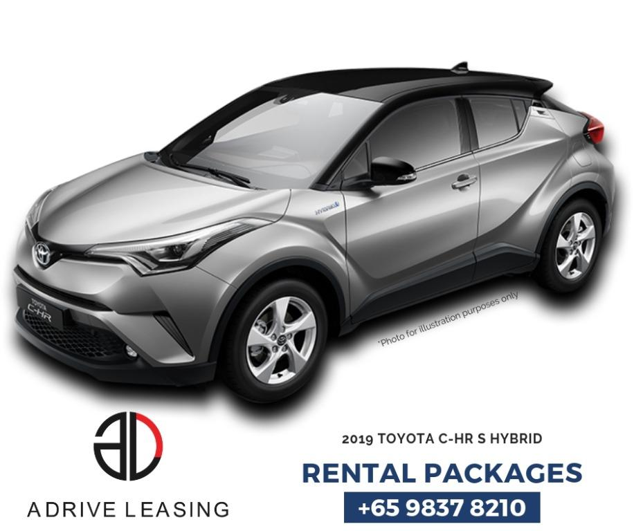 Toyota CH-R (Hybrid) no Contract 14 days Termination notice