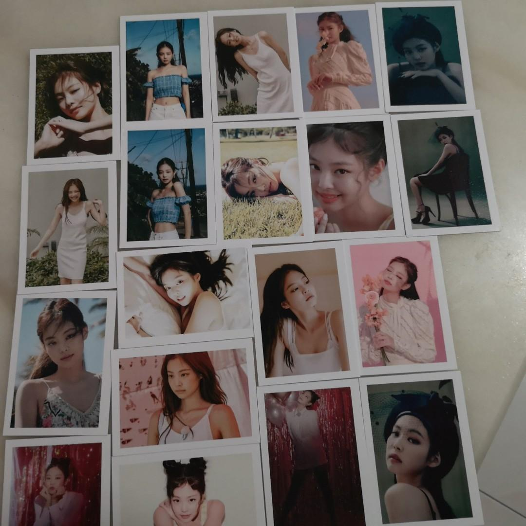 【WTS】Blackpink Jennie Lomo Card (SUMMER DIARY IN HAWAII+2020 WELCOMING COLLECTION)