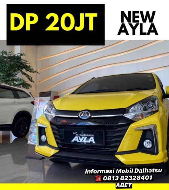 DP MURAH Daihatsu Ayla mulai 20 jutaan. Daihatsu Pamulang