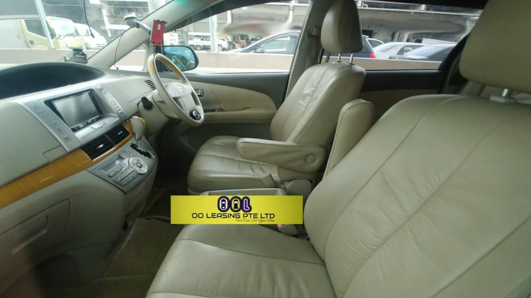 Highest Specs Toyota Estima 7 Seater with full electric seats &  auto tail gate