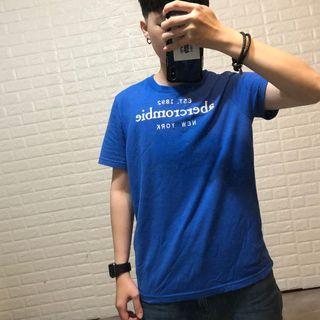 A&F短袖素T
