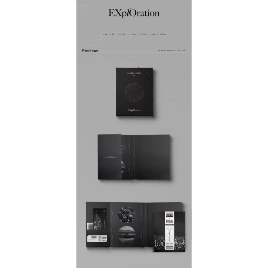 GROUP ORDER - EXO PLANET #5 EX'PLORATION PHOTOBOOK & LIVE DVD ❤️