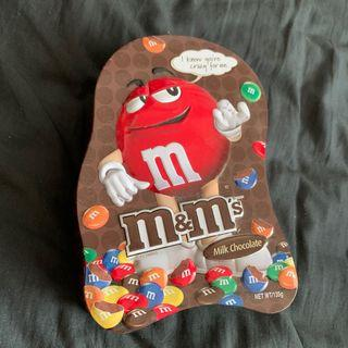 M&Ms mm巧克力 鐵盒 馬口鐵 mm chocolate