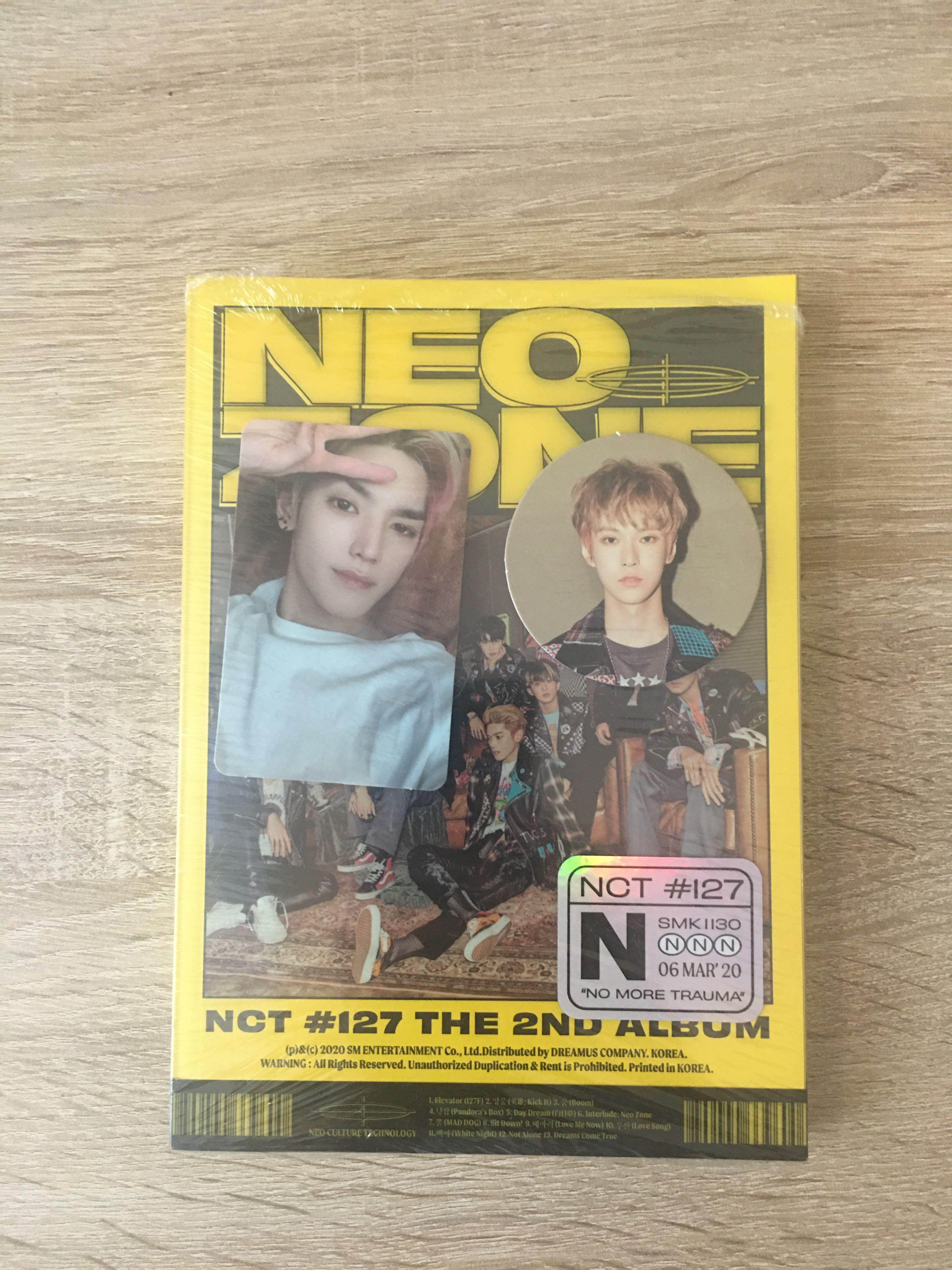 [NEW READYSTOCK] NCT127 NEO ZONE TAEYONG DOYOUNG N VERSION