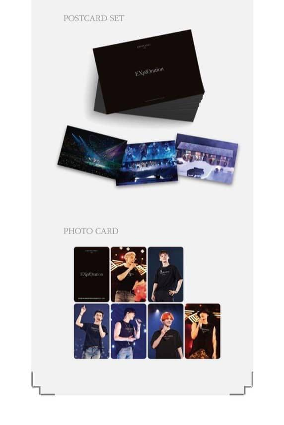 OPEN GROUP ORDER - EXO PLANET #5 EX'PLORATION DVD 💖
