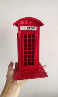 Pajangan Telepon Umum Craft Inacraft