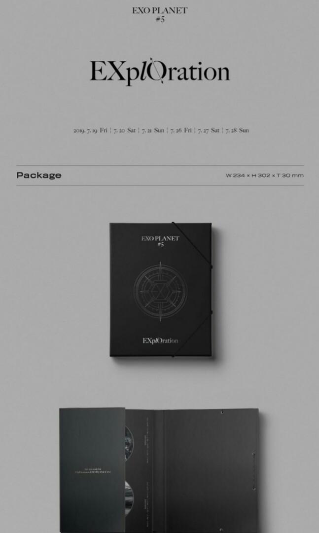 [PO] EXO PLANET 5 - EXplOration Photobook & LiveAlbum
