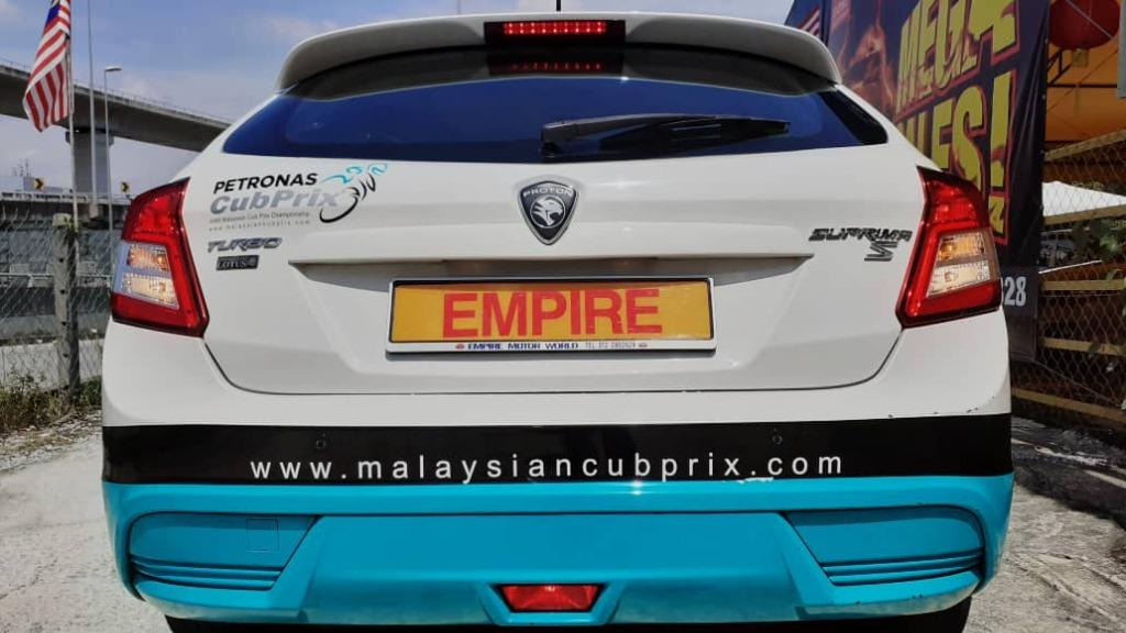 PROTON SUPRIMA S 1.6 (A) TURBO !! DEMO CAR FOR MALAYSIAN PETRONAS CUB PRIX RACE EDITION !! HARDLY USED !! AS GOOD AS NEW !! SUPER PREMIUM HATCHBACK !! CVT TURBO HANDLING BY LOTUS !! LIMTED EDITION NEW FACELIFT !! ( VXX 3329 ) 1 CAREFUL OWNER !!