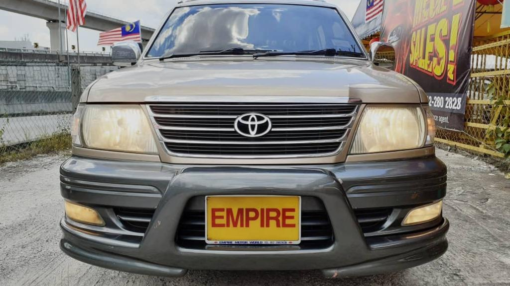 TOYOTA UNSER 1.8 (A) SUPER LGX PREMIUM G-SPECS !! 4 DOOR 7 SEATERS MPV LIMITED EDITION NEW FACELIFT !! CKD !! PREMIUM FULL HIGH SPECS !! ( WXX 8222 ) 1 CAREFUL OWNER !!