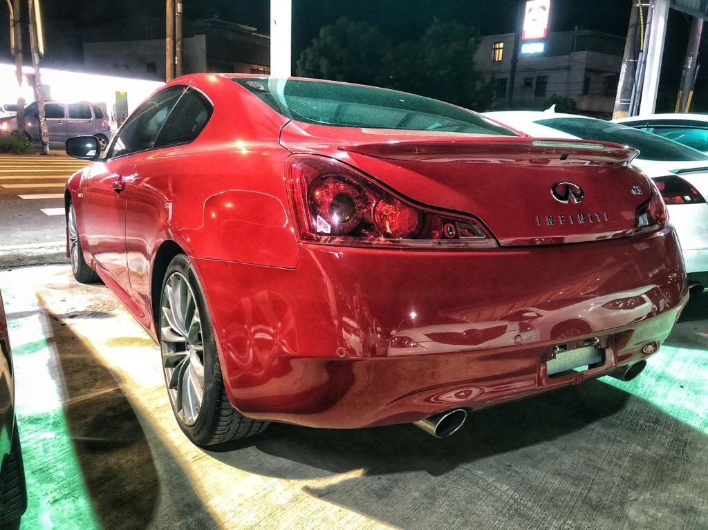 2013 Infiniti G37 Coupe 3.7 紅