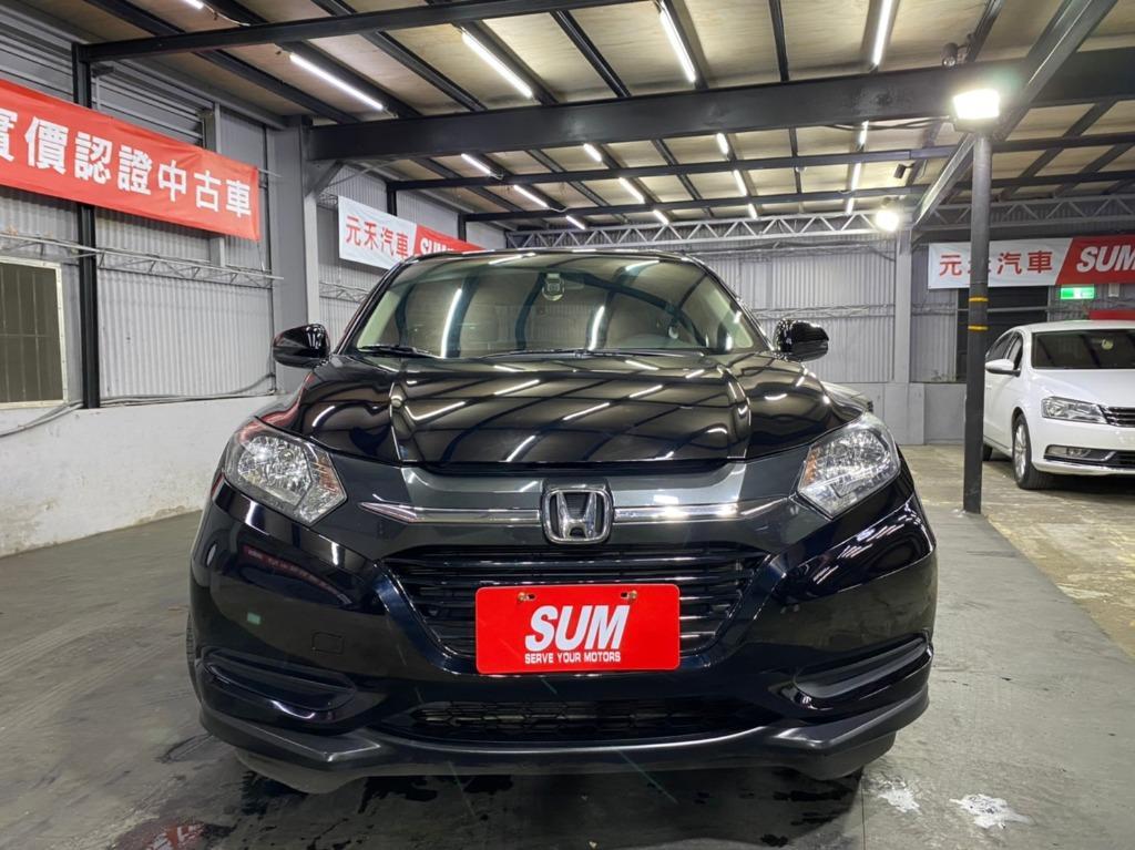 正2019年 小改款 Honda HRV VTi-s 1.8 免鑰匙旗艦款,曜石黑