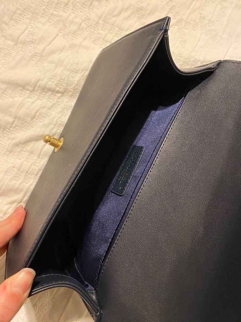 Boy Bag - Chevron Caviar Calf Leather (Spring/Summer 2016)