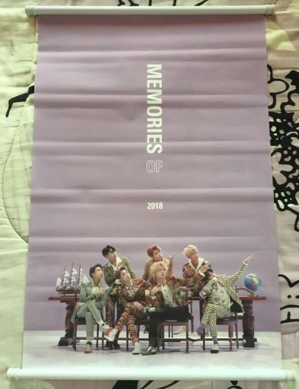 BTS MEMORIES 2018 PRE ORDER GIFT (LIMITED EDITION)