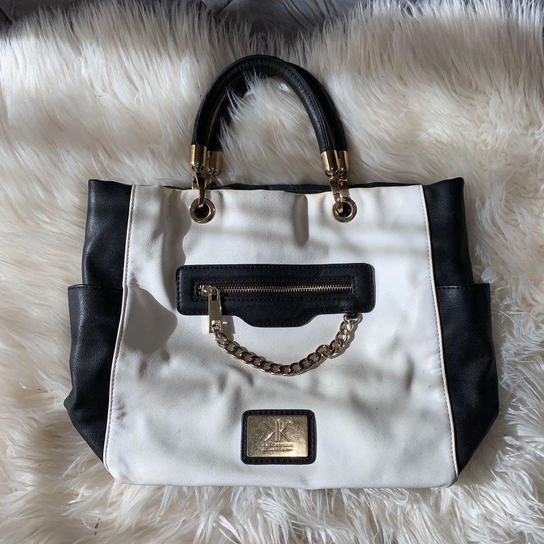 B/W Kardashian Bag