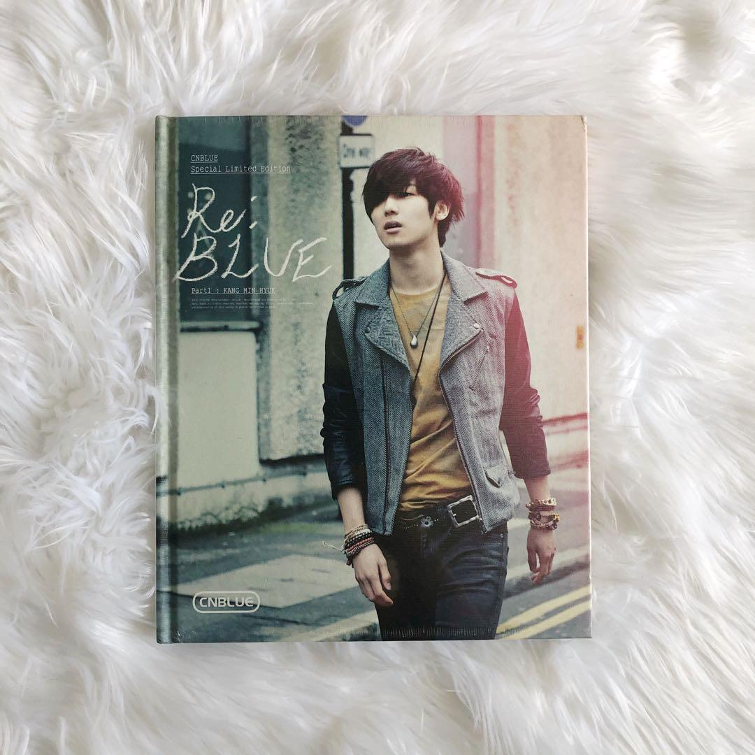 CNBLUE Special Limited Edition—Re:BLUE(Part 1:KANG MIN HYUK)