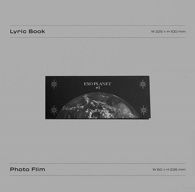 EXO PLANET 5 - EXPLORATION (PHOTOBOOK + LIVE ALBUM)