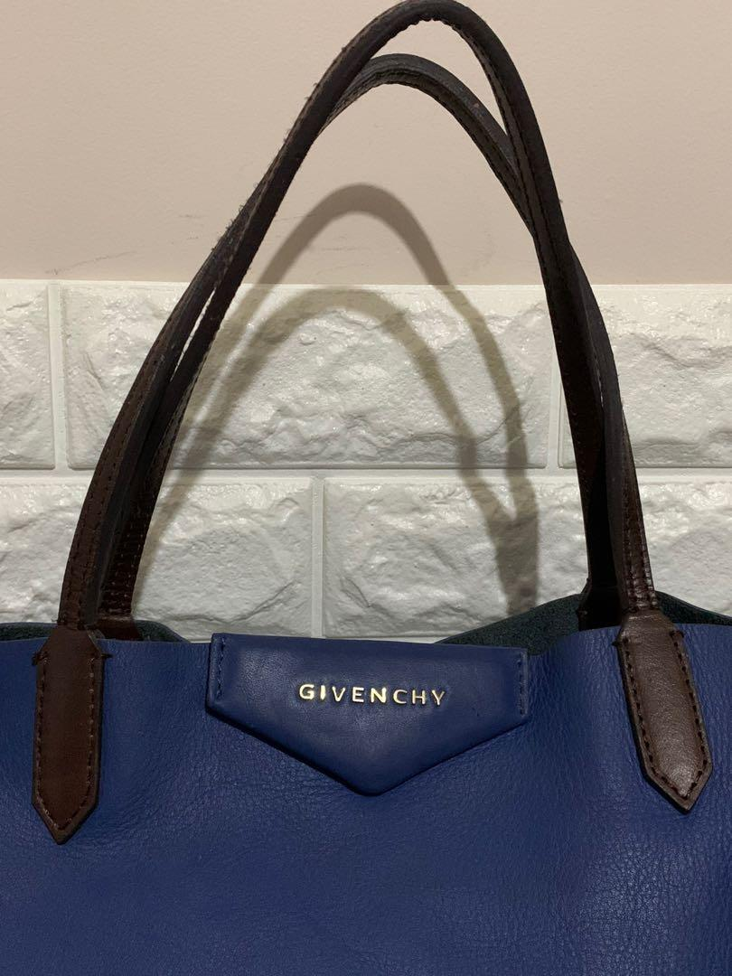 Givenchy totebag, auth, full leather, size 40 cm, kondisi 80% OK, kotor pemakaian aja sist, bag only!!serius aja no php!!murah