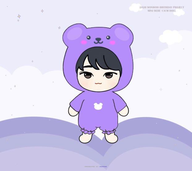 GO | Wonwoo Doll Birthday project by RAFFINE_svtww