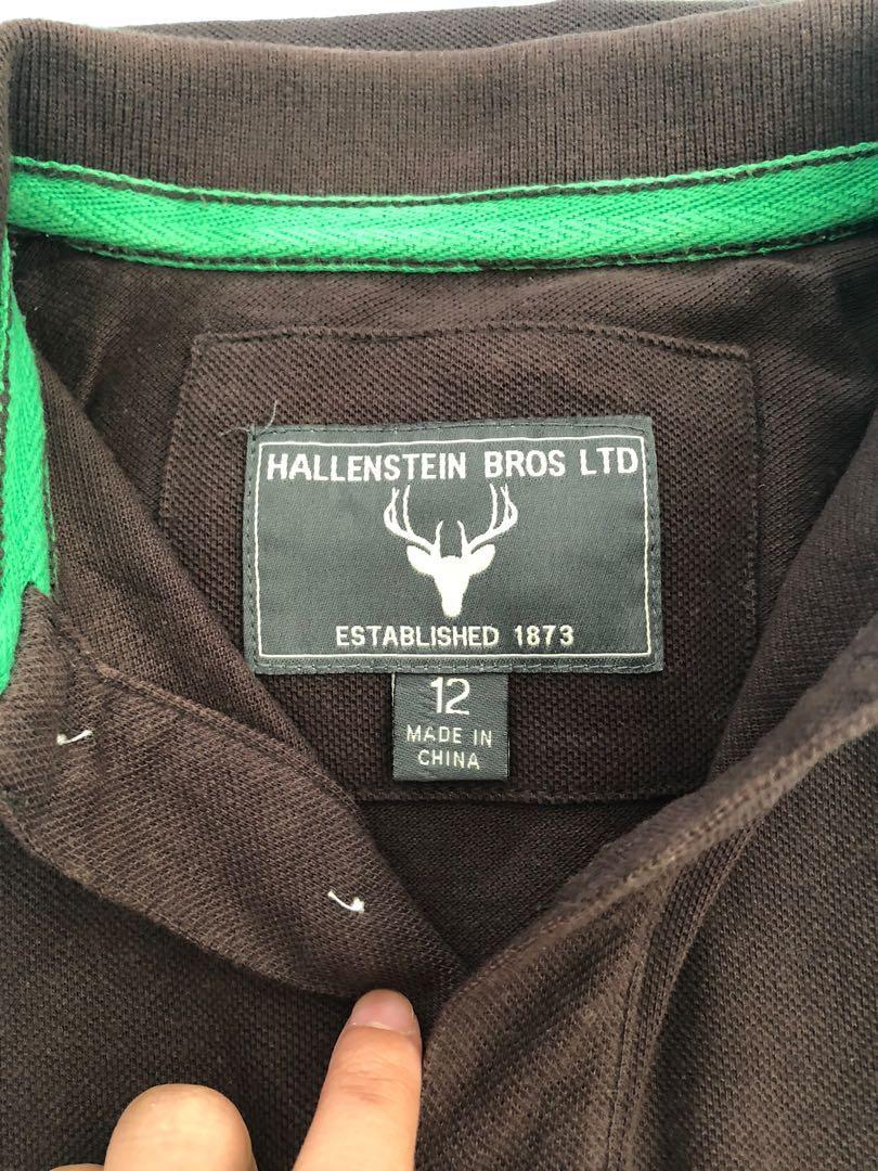Men's Polo Size 12 - Hallenstein
