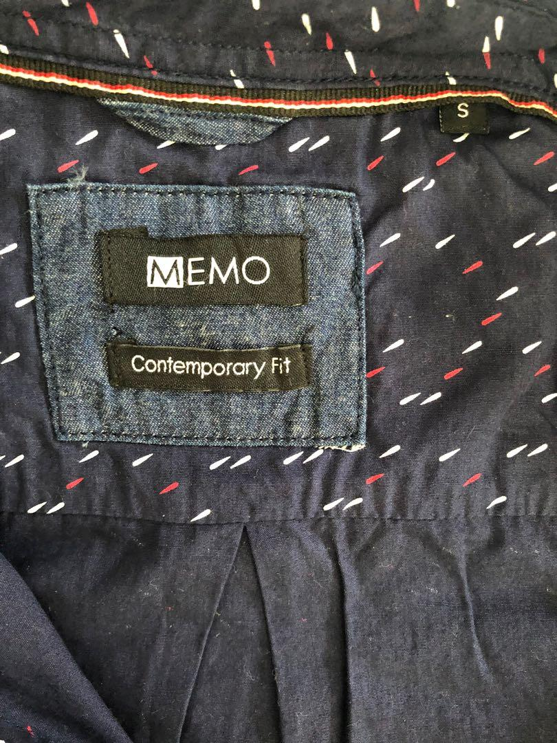 Men's Polo Size Small- Memo