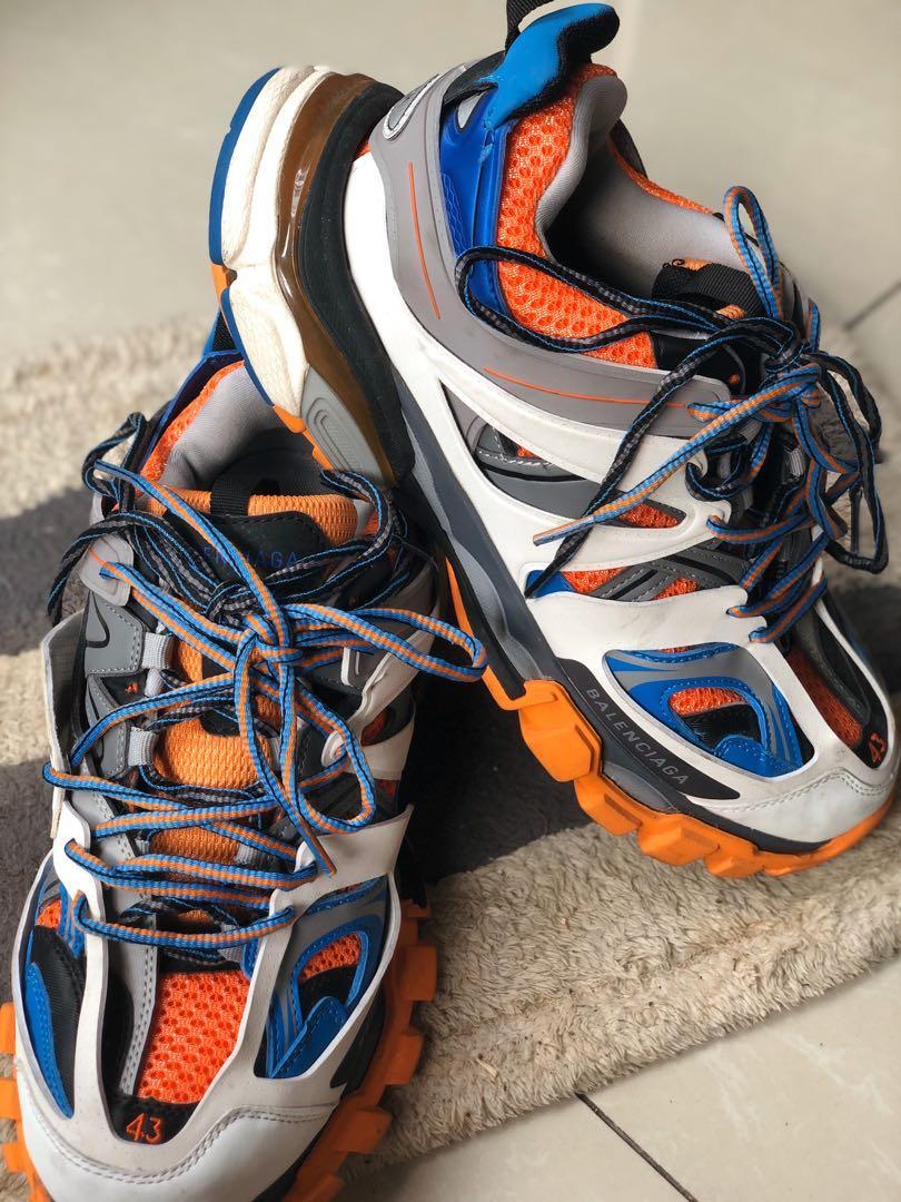 Balenciaga Track Ayakkabı Kadın Mavi Pinterest